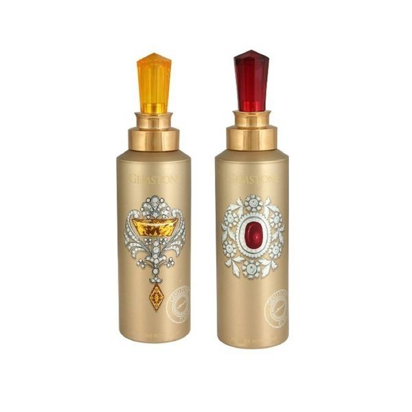 Armaf Gemstone Topaz , Ruby Body Spray - For Men & Women